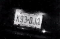 Night License Plate Capture NJ
