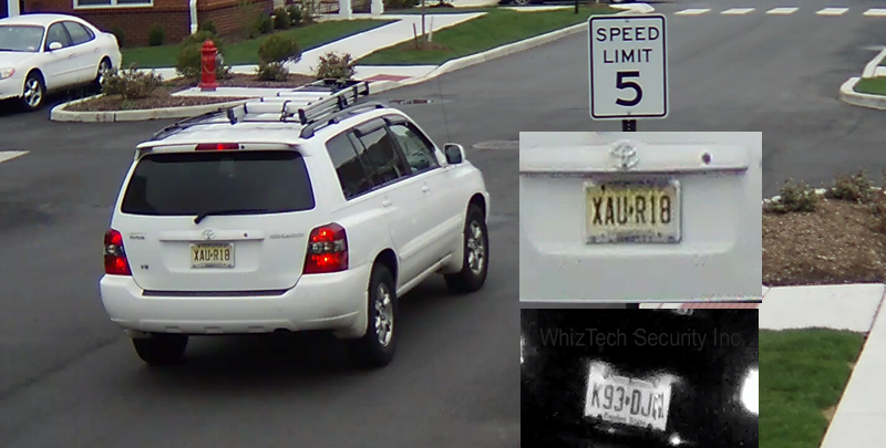 Apartment Complex License Plate LPR Camera in NJ, PA and NY