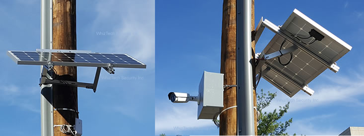 Solar Powered Wireless Construction Site Cameras